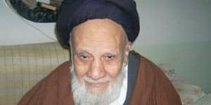 ملاقات استاد موسوی مطلق با آیت الله حاج سید جواد مدرسی یزدی