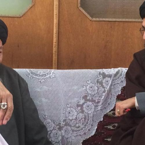 ملاقات استادموسوی مطلق با حجت الاسلام سیداحمد موسوی نیک