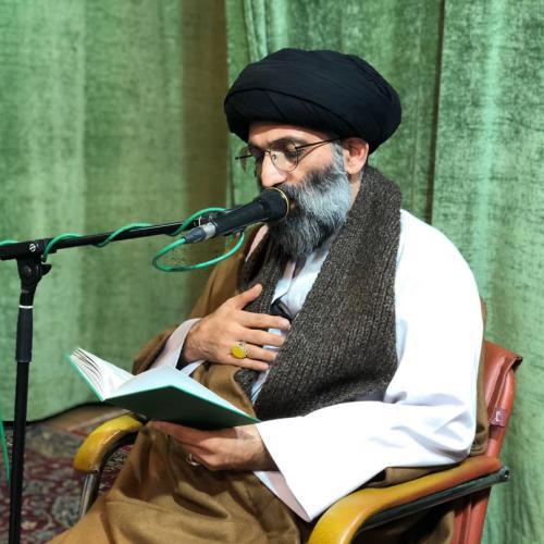 گزارش تصویری از درس اخلاق استاد موسوی مطلق - ۵ اسفند ۹۸