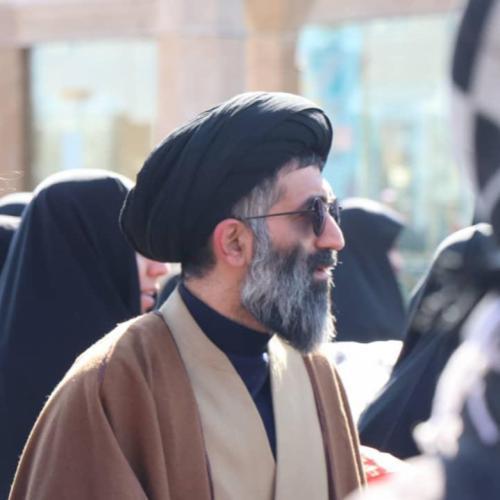 حضور حجت الاسلام استاد موسوی مطلق در راهپیمایی ۲۲ بهمن قم ۹۸