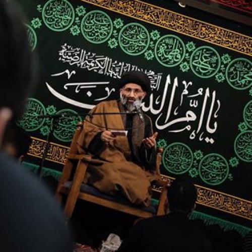 گزارش تصویری سخنرانی استاد موسوی مطلق در وفات حضرت ام البنین(س) - ریحانه النبی(س)