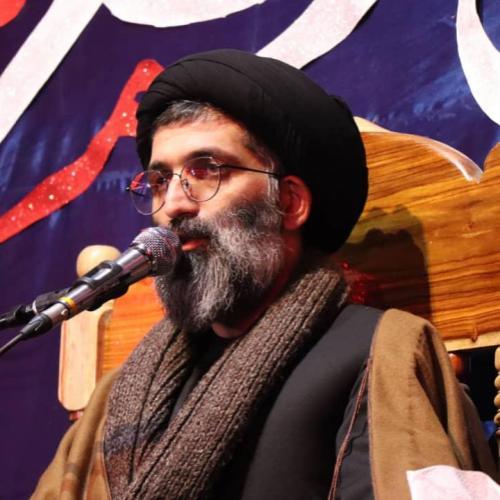 گزارش تصویری از سخنرانی استاد موسوی مطلق در وفات حضرت ام البنین(س) و اربعین شهادت حاج قاسم سلیمانی