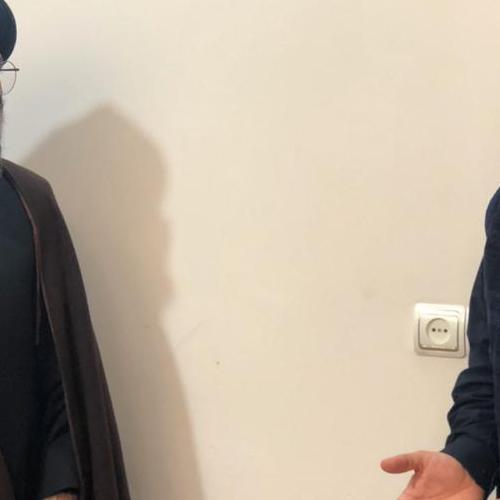 ملاقات دکتر محمدرضا پور ابراهیمی رئیس کمیسیون اقتصادی مجلس با حجت الاسلام موسوی مطلق