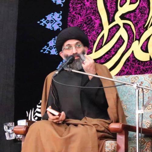 گزارش سخنرانی استاد موسوی مطلق در شب شهادت حضرت زهرا (س) - امام زاده صالح(ع) ۱۳۹۸