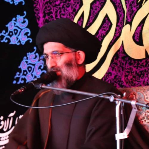 گزارش سخنرانی استاد موسوی مطلق در امام زاده صالح(ع) - فاطمیه ۹۸