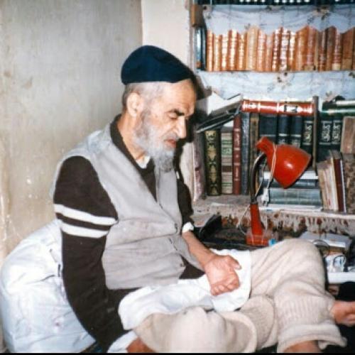 ملاقات استاد موسوی مطلق با آیت الله پهلوانی تهرانی (سعادت پرور)
