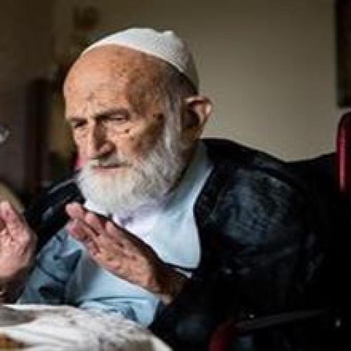 ملاقات استاد موسوی مطلق با آیت الله حاج شیخ ابوالقاسم خزعلی