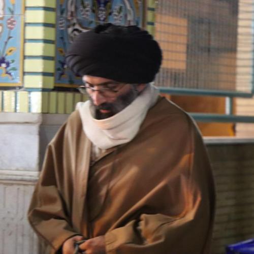حضور حجت الاسلام موسوی مطلق بر سر مزار عارف کامل آیت الله انصاری همدانی