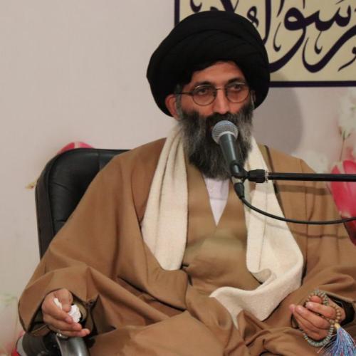 گزارش تصویری سخنرانی استاد موسوی مطلق در ولادت پیامبر اعظم و امام صادق علیهما السلام