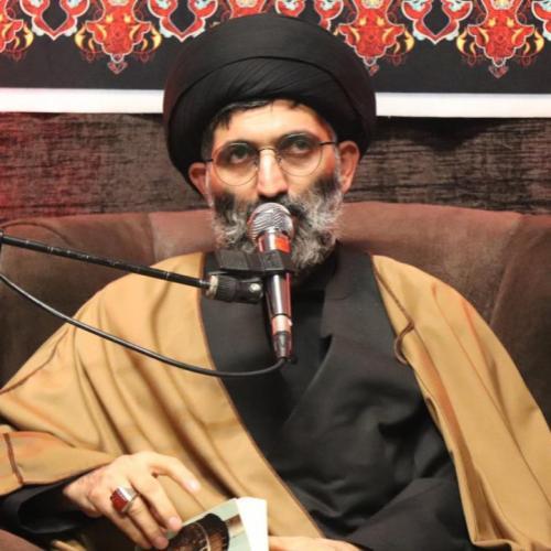 گزارش تصویری از سخنرانی حجت موسوی مطلق در احیای شب بیست و یکم - هیئت قمرالعشیره