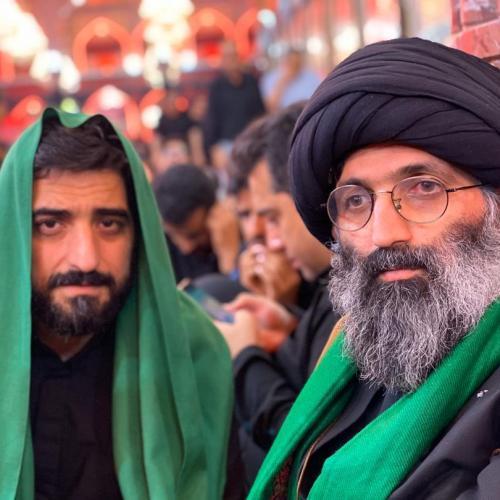 حضور استاد موسوی مطلق در حرم امام حسین علیه السلام - اربعین ۹۸