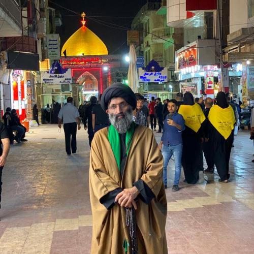 حضور استاد موسوی مطلق در حرم حضرت امیرالمومنین علی علیه السلام - اربعین ۹۸