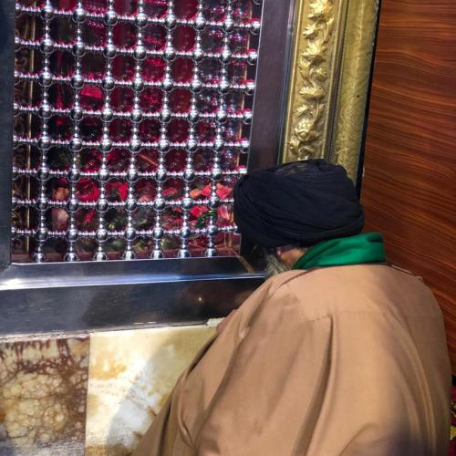 گزارش زیارت مرقد شریفه بنت الحسن معروف به طبیب اهل بیت علیهم السلام - اربعین ۹۸