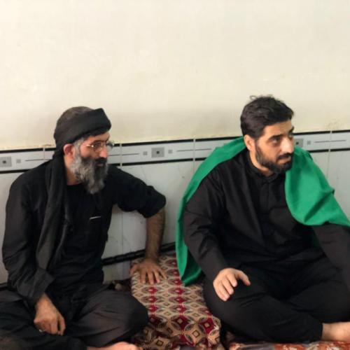 حضور استاد و حاج سید مجید بنی فاطمه در ضیافت موکب داران برادران عراقی - اربعین ۹۸