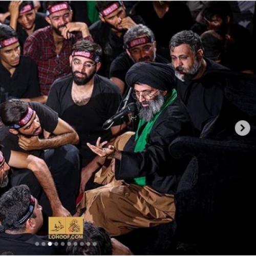 گزارش تصویری از سخنرانی استاد موسوی مطلق در پیاده روی اربعین ۹۸ - عمود ۷۸۰ شب سوم