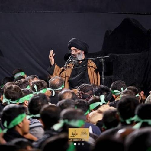 گزارش تصویری از سخنرانی استاد موسوی مطلق در پیاده روی اربعین ۹۸ - عمود ۷۸۰ شب دوم