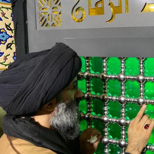 گزارش تصویری از حضور استاد موسوی مطلق در سامرا