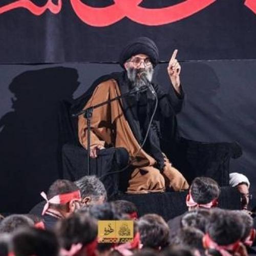 گزارش تصویری از سخنرانی استاد موسوی مطلق در پیاده روی اربعین ۹۸ - عمود ۷۸۰ شب اول