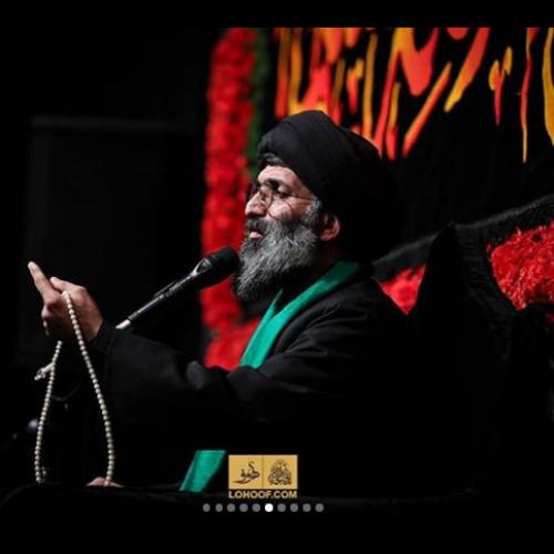 گزارش تصویری سخنرانی استاد موسوی مطلق در شب ششم محرم ۹۸ - ریحانه الحسین(ع)