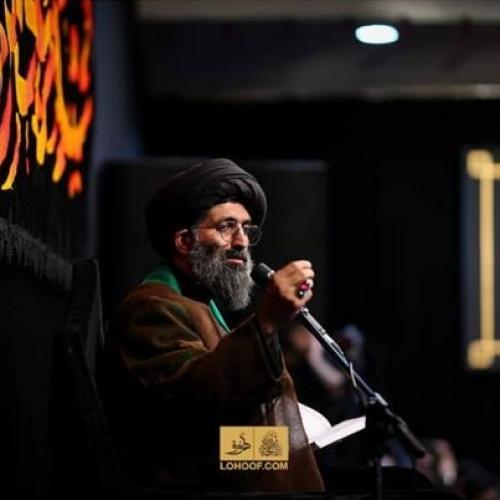گزارش تصویری سخنرانی استاد موسوی مطلق در شب اول محرم ۹۸ - ریحانه الحسین(ع)