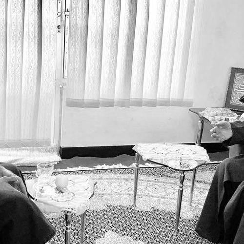 تصاویر ملاقات حجت الاسلام موسوی مطلق با حجت الاسلام سیدحمید حسینی