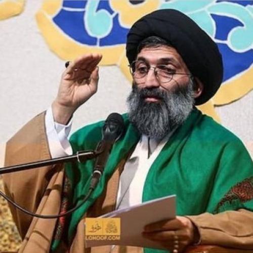 گزارش تصویری سخنرانی استاد موسوی مطلق در میلاد حضرت زهراء(س) - ۹۷