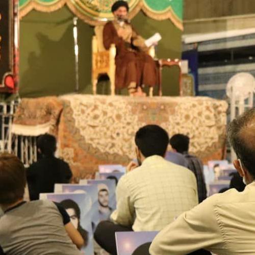 گزارش تصویری از سخنرانی استاد موسوی مطلق در وفات حضرت عبدالعظیم حسنی(ع)