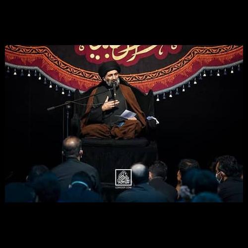 گزارش تصویری از سخنرانی استاد موسوی مطلق در شب شهادت امام صادق علیه السلام