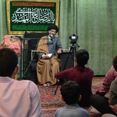 گزارش تصویری از درس اخلاق حجت الاسلام استاد سیّدعباس موسوی مطلق _ ۱۶ تیر ۹۹