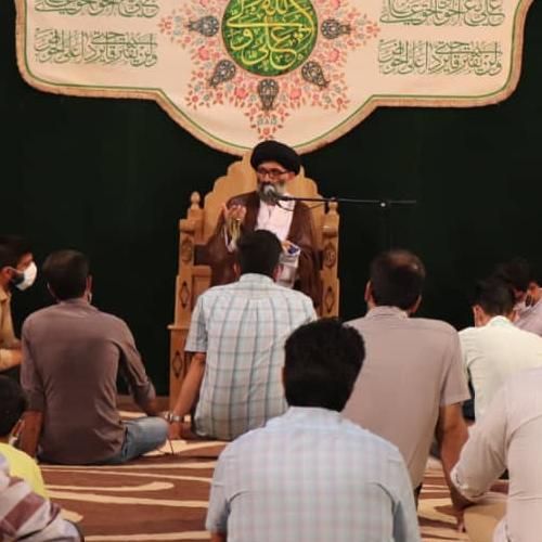 گزارش تصویری از سخنرانی استاد سیّدعباس موسوی مطلق در عید سعید غدیر ۹۹