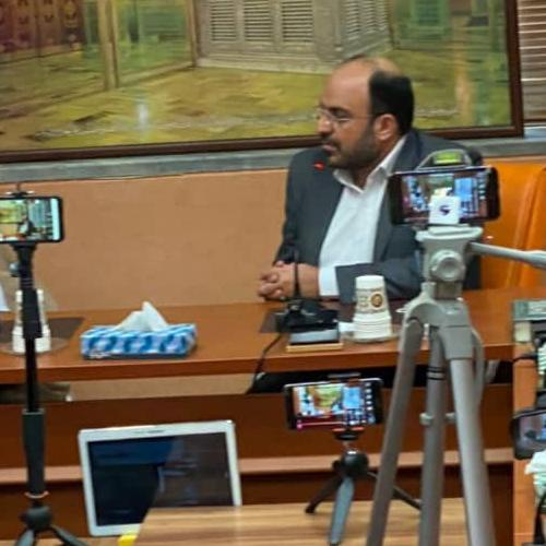 گزارش تصویری از ضبط برنامه عید غدیر و عید مباهله با کارشناسی حجت الاسلام استاد موسوی مطلق