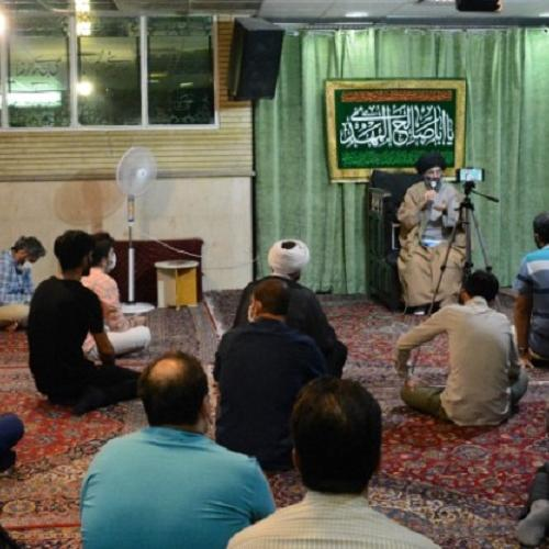 گزارش تصویری از درس اخلاق حجت الاسلام استاد سیّدعباس موسوی مطلق _ ۲۷ مرداد ۹۹