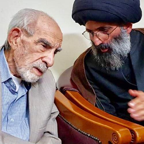 خاطره ای از ملاقات حجت الاسلام والمسلمین  موسوی مطلق با عبد صالح خدا عارف محقق مرحوم استاد کریم محمود حقیقی