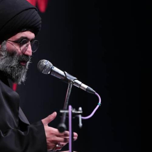گزارش تصویری از سخنرانی استاد سیّدعباس موسوی مطلق در روز اول محرم ۹۹ - امین الزهراء (س)