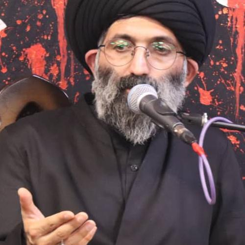گزارش تصویری از سخنرانی استاد سیّدعباس موسوی مطلق در شب هفتم محرم ۹۹ - انصار العباس (ع)