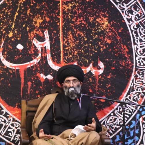 گزارش تصویری از سخنرانی استاد سیّدعباس موسوی مطلق در شب هشتم محرم ۹۹ - انصار العباس (ع)