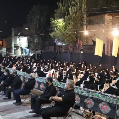 گزارش تصویری از سخنرانی حجت الاسلام موسوی مطلق در شب عاشورای حسینی  ۹۹ - حسینیه ولایت