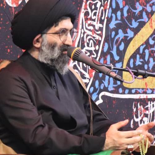 گزارش تصویری از سخنرانی استاد سیّدعباس موسوی مطلق در شب عاشورای حسینی ۹۹ - انصار العباس (ع)