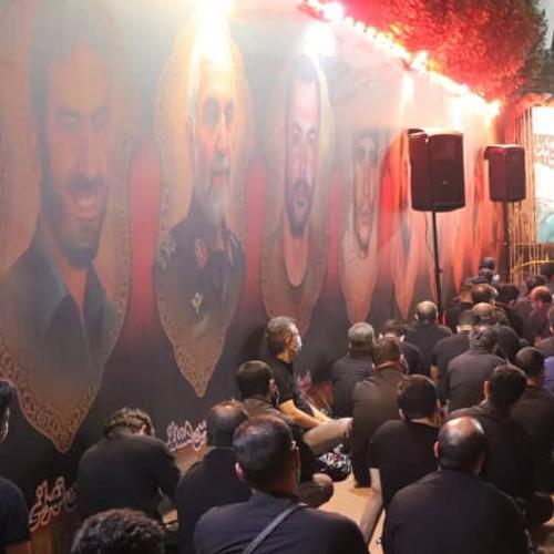 گزارش تصویری از سخنرانی استاد سیّدعباس موسوی مطلق در شب عاشورای حسینی ۹۹ - بیرق حضرت قاسم علیه السلام