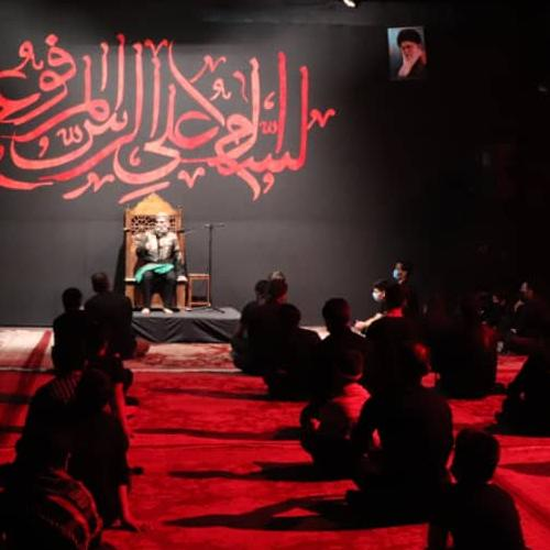 گزارش تصویری از سخنرانی حجت الاسلام موسوی مطلق در ظهر عاشورای حسینی سال ۹۹ - امامزاده عقیل اسلامشهر