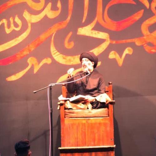 خلاصه سخنرانی حجت الاسلام سیدعباس موسوی مطلق در روز چهارم محرم ۹۹ - امین الزهرا(س)