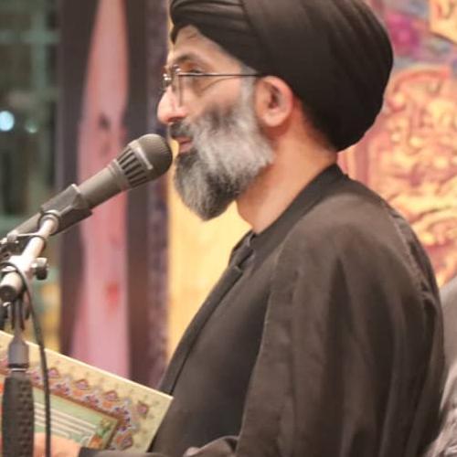گزارش تصویری از سخنرانی استاد سیّدعباس موسوی مطلق در  مشهد مقدس - شباب المهدی (عج) شب اول