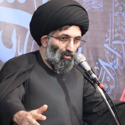 گزارش تصویری از سخنرانی استاد سیّدعباس موسوی مطلق در مشهد مقدس - هیئت متحده فاطمه سلام الله علیها