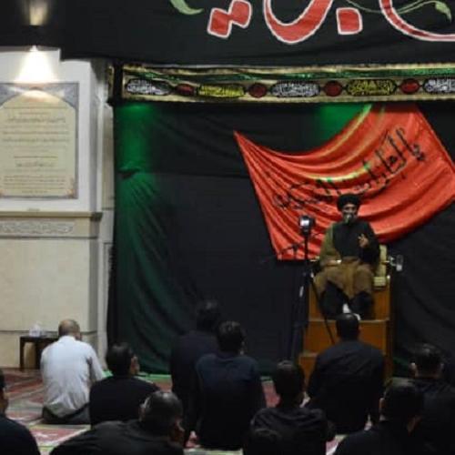 گزارش تصویری از درس اخلاق حجت الاسلام استاد سیّدعباس موسوی مطلق _ ۲۴ شهریور ۹۹  مسجد جامع قلهک
