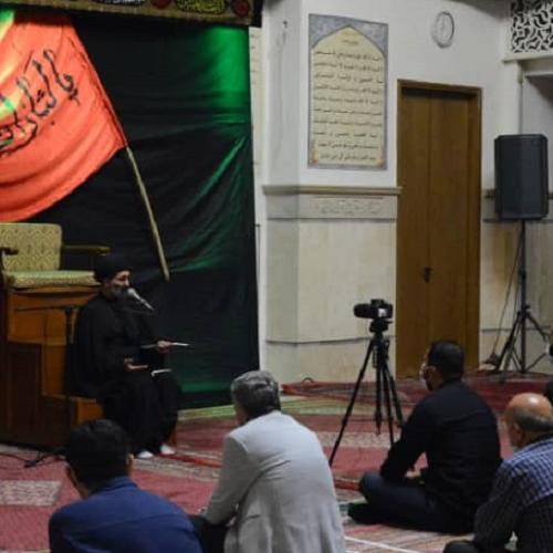 گزارش تصویری از درس اخلاق حجت الاسلام استاد سیّدعباس موسوی مطلق _ ۳۱ شهریور ۹۹ مسجد جامع قلهک
