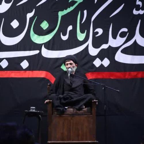 گزارش تصویری از سخنرانی استاد سیّدعباس موسوی مطلق در شب دهم صفر ۹۹ - امین الزهراء (س)