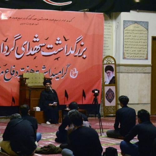 گزارش تصویری از درس اخلاق حجت الاسلام استاد سیّدعباس موسوی مطلق _ ۷ مهر ۹۹ مسجد جامع قلهک