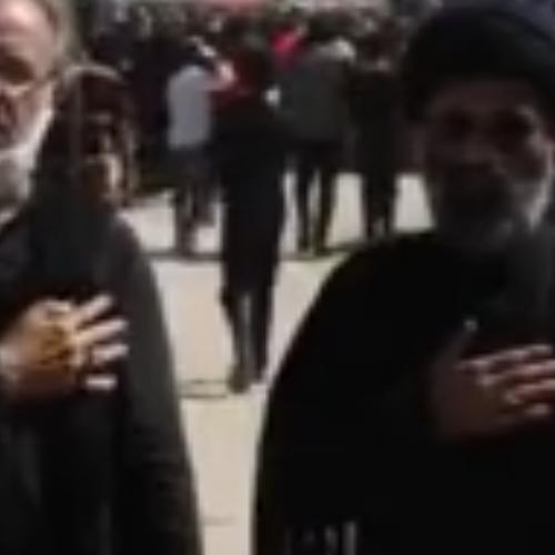 ویدئو بیانات حجت الاسلام موسوی مطلق  در برنامه حسینیه ایران - شبکه اول سیما