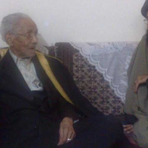 ملاقات حجت الاسلام موسوی مطلق با علامه بلادی بهبهانی