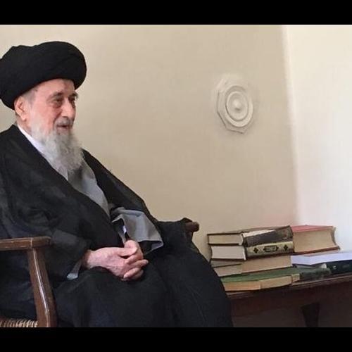 تصاویر ملاقات استاد سیّدعباس موسوی مطلق با آیت الله سیدرضی شیرازی